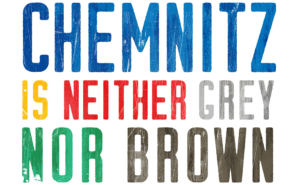 Chemnitz is neither grey nor brown